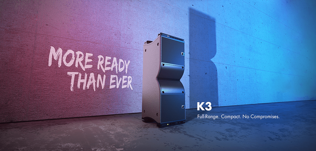 The New L-Acoustics K3 Full Range, Compact Line Source System Is Coming Your Way 1