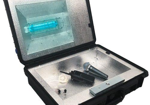 Protégez-Vous Grâce à Notre Boîte De Traitement UV-C Et Nos Stands De Désinfectant Personnalisés 4