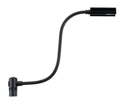 Littlite 12X-RHi-4 - Hi Intensity Gooseneck Lamp with 4-pin Right Angle XLR Connector (12-inch) | XLR