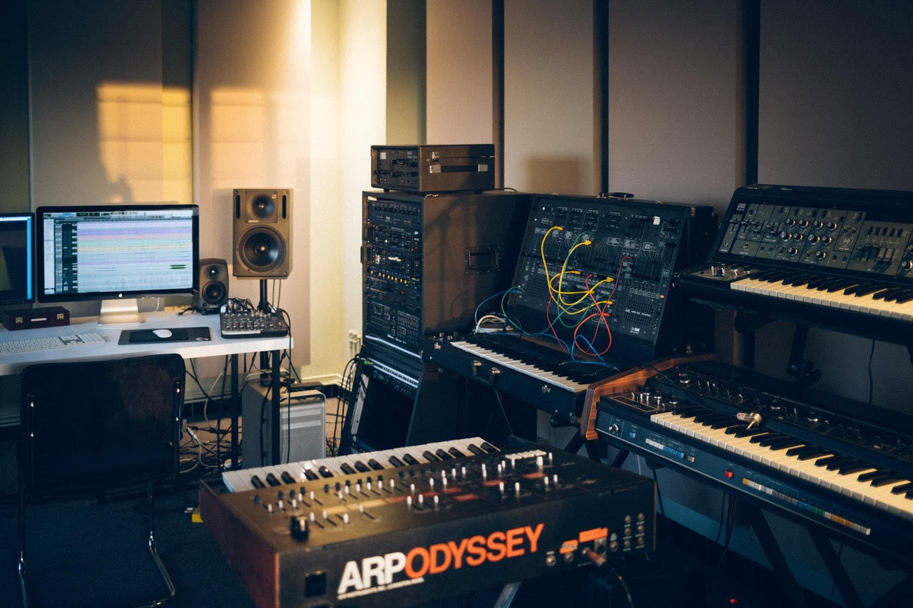 In The Studio: GOOSE About Producing With Genelec Speakers 2