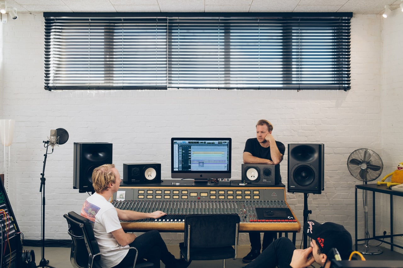 In The Studio: GOOSE About Producing With Genelec Speakers 1
