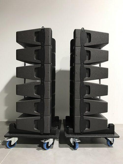 L-Acoustics Kiva Set - New Color (incl. Wheel Plates) | XLR