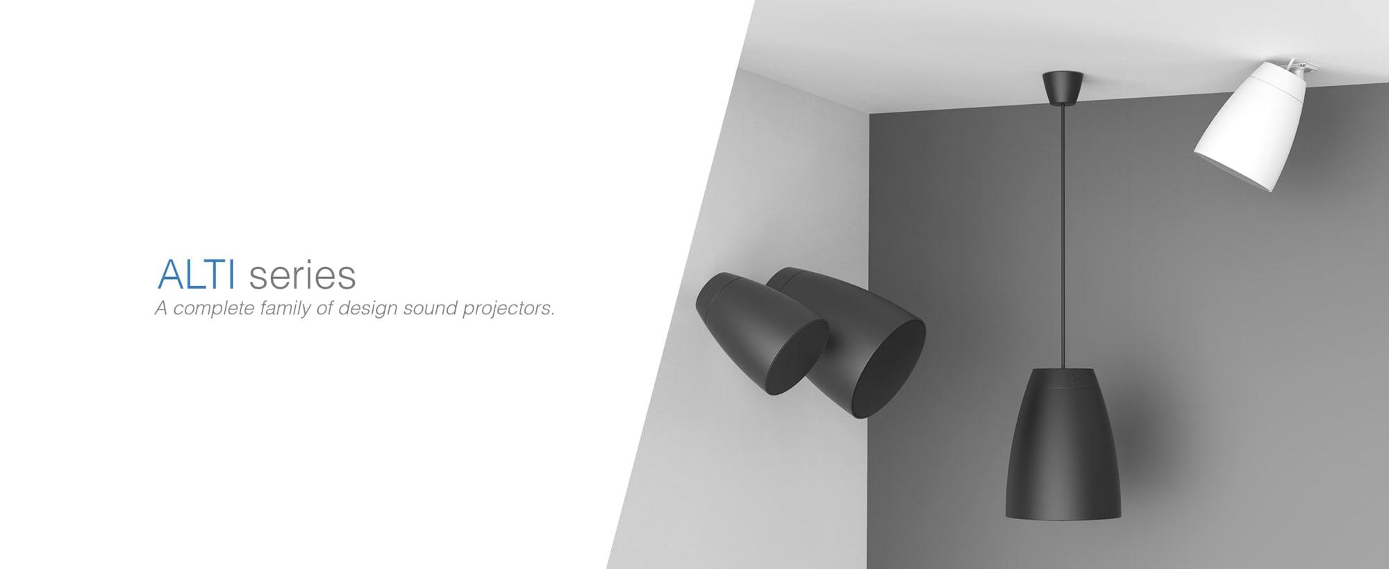 Audac Introduces New Design Speaker Series 'ALTI' | XLR