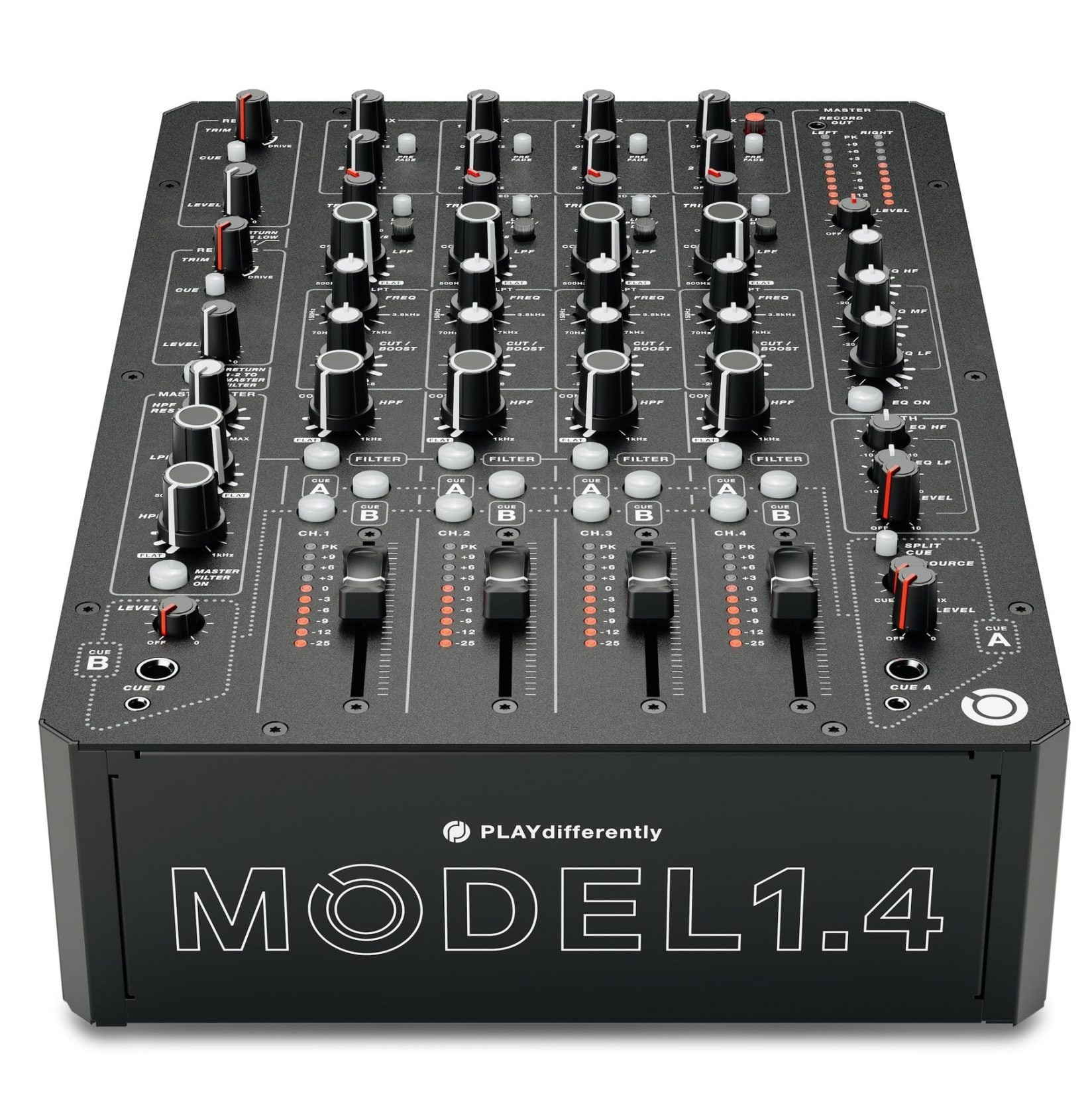PLAYdifferently Releases MODEL 1.4  - 4-Channel Analogue DJ Mixer 3