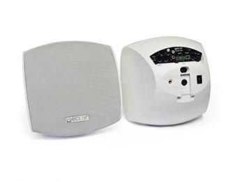 Ecler AUDEO106P Self-Powered Loudspeaker Cabinet – White