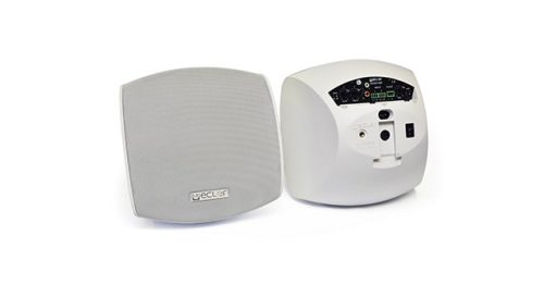 Ecler AUDEO106P Self-Powered Loudspeaker Cabinet - White 1