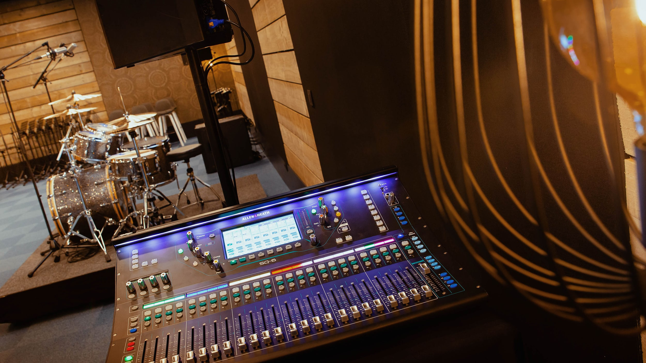 Allen & Heath Is The Primary Choice For Brand New High-End Rehearsal Studios Near Brussels 2