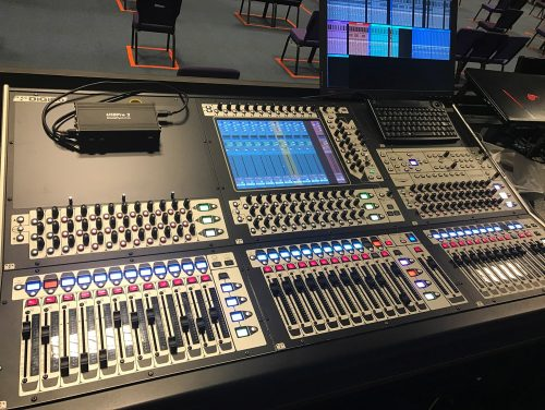 DiGiCo SD8 Digital Mixing Console Pack 1