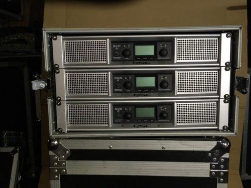 QSC GXD8 Power Amplifier 1