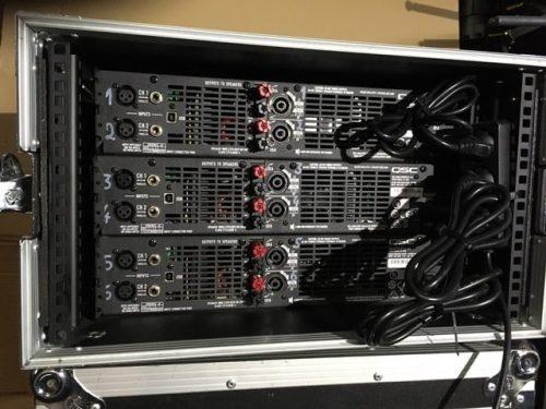 QSC GXD8 Power Amplifier 3