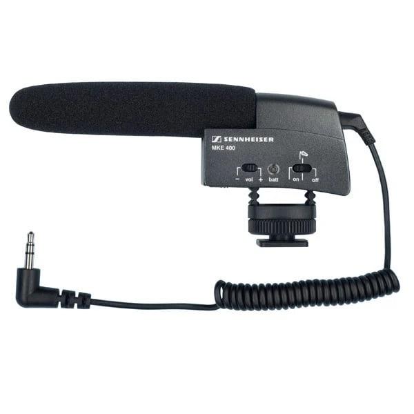 Sennheiser MKE 400 - Camera Shotgun Microphone | XLR