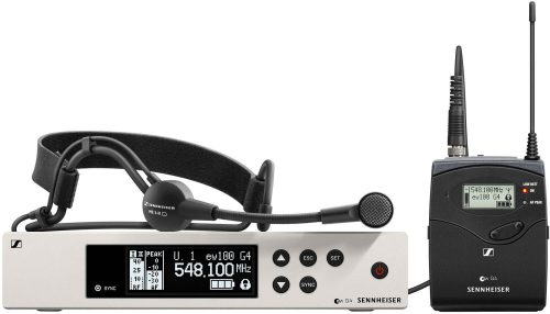 Sennheiser EW 100 G4-ME3 Wireless Headset System 1