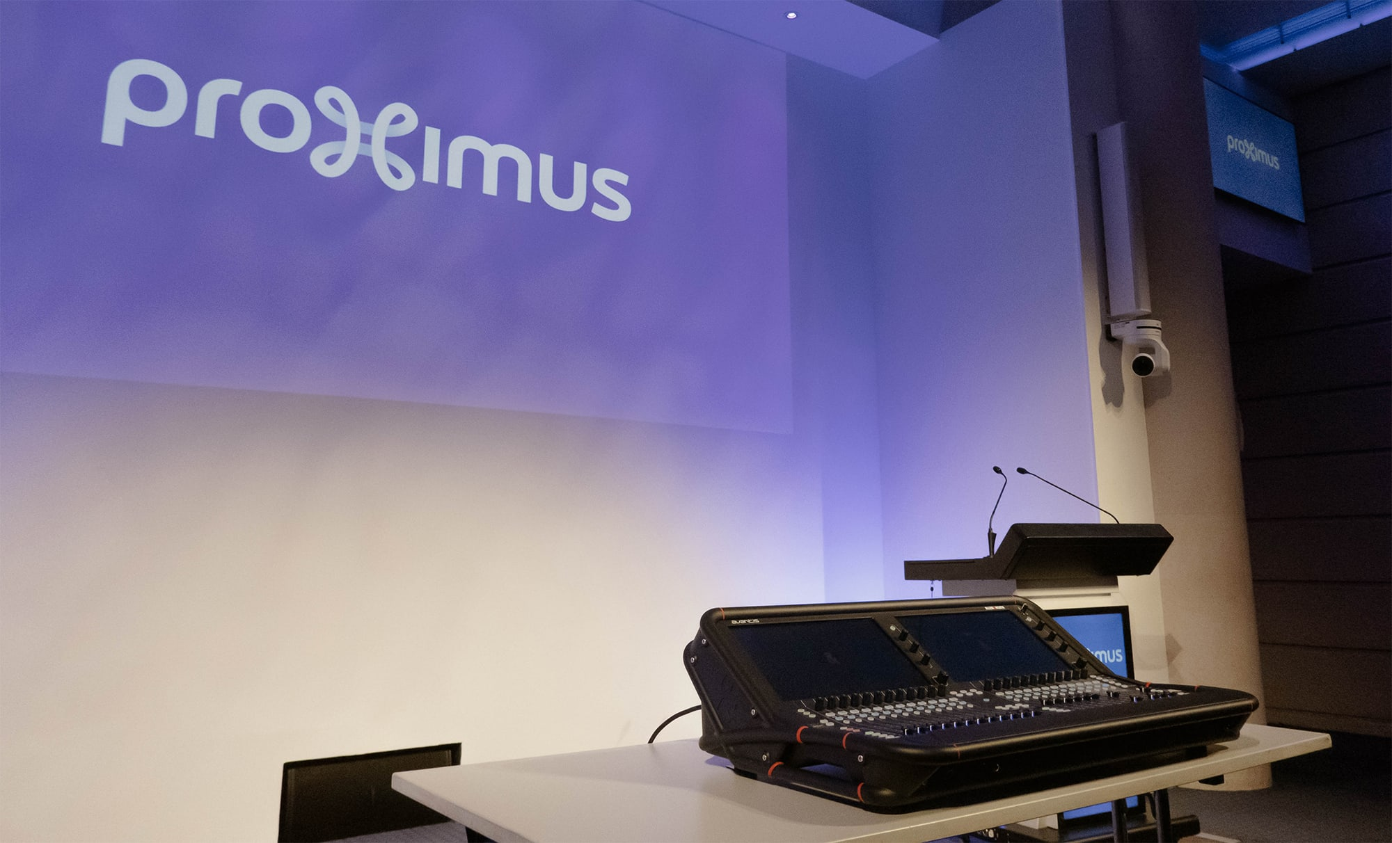Proximus Chooses Allen & Heath's Avantis For The Upgrade Of Their Mixing Facilities 1