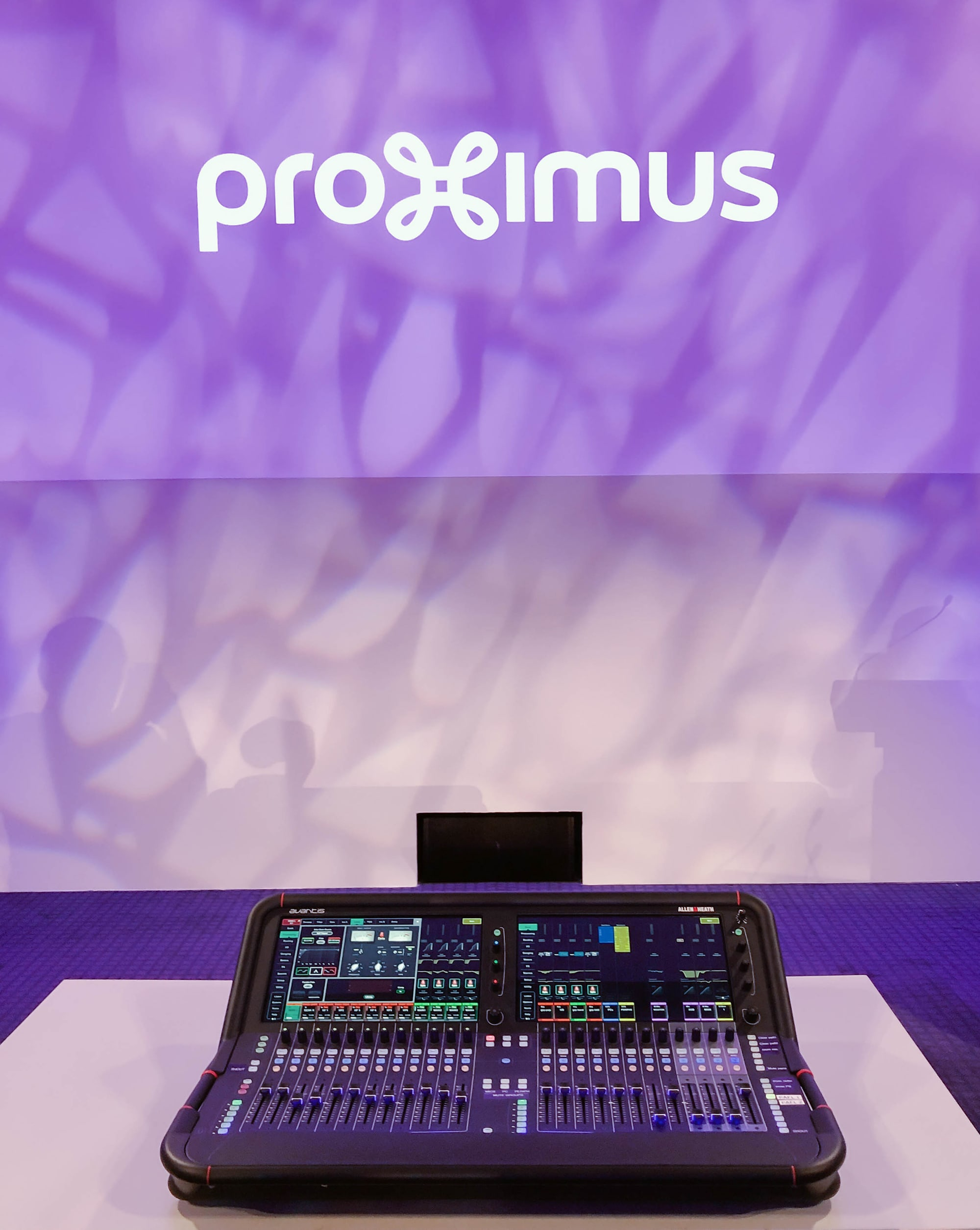 Proximus Chooses Allen & Heath's Avantis For The Upgrade Of Their Mixing Facilities 2