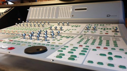 Avid ICON D-Command Controller + Avid XMON + Argosy Desk 2
